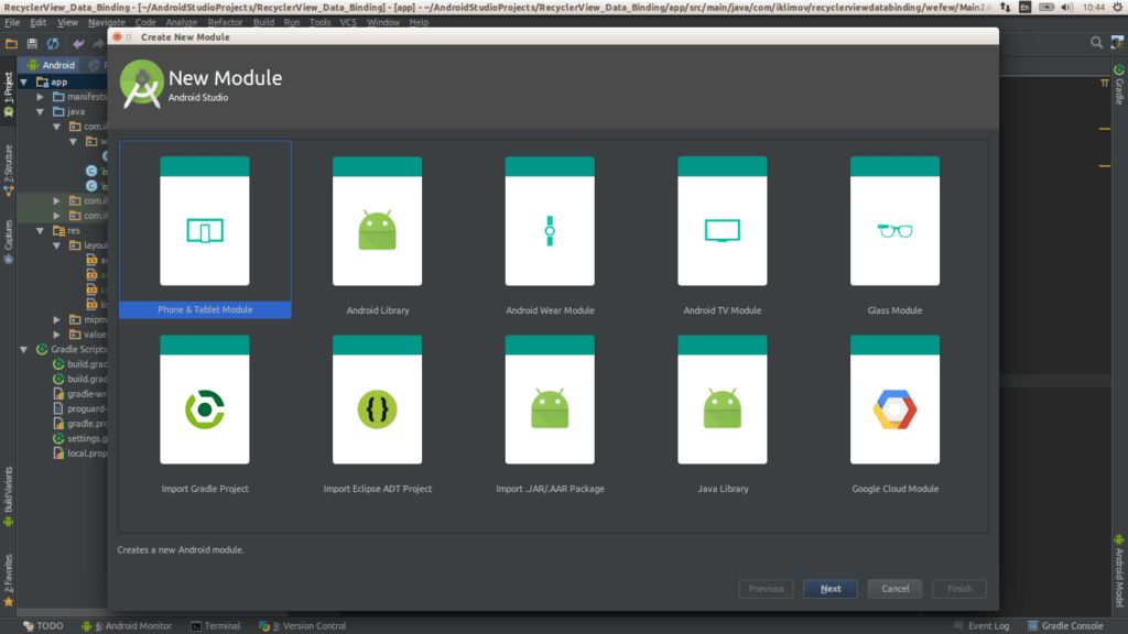 Save your time with Android Templates - My Hexaville