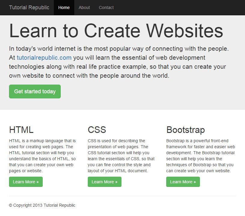 Working with Bootstrap 3 Fluid Layout - Tutorial Republic