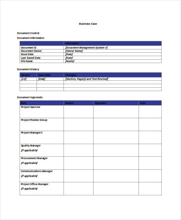 Case Template – 9+ Free Word, PDF Documents Download | Free ...