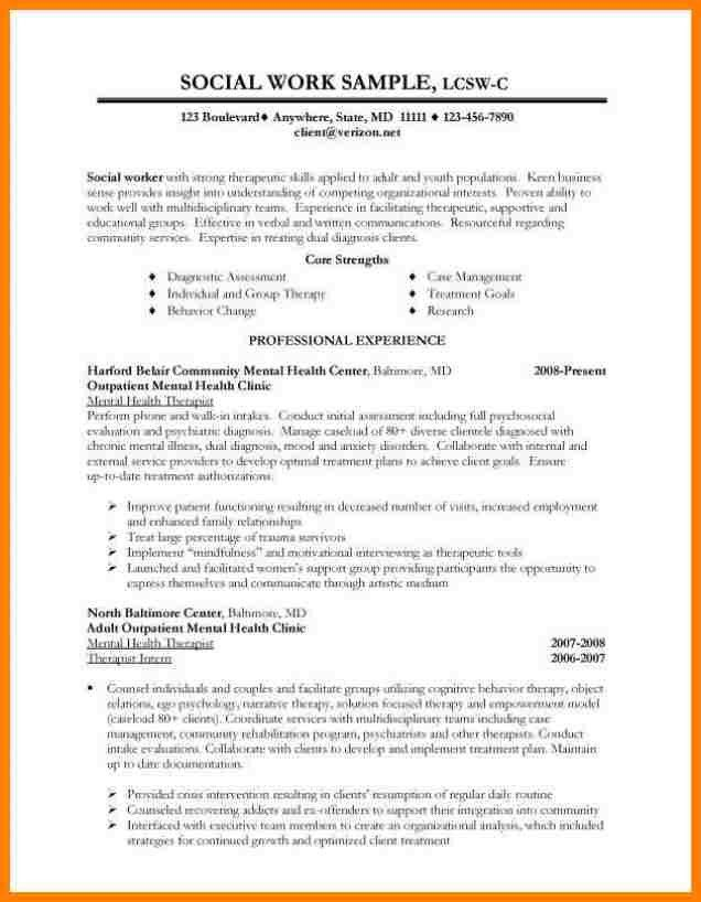 Social Work Resume Objective Statements. resume objective social ...