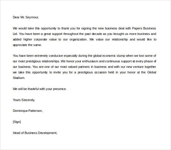 Thank You Letter for Gift – 8+ Free Word, Excel, PDF Format ...