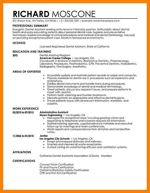 7+ dental assistant objective | science-resume