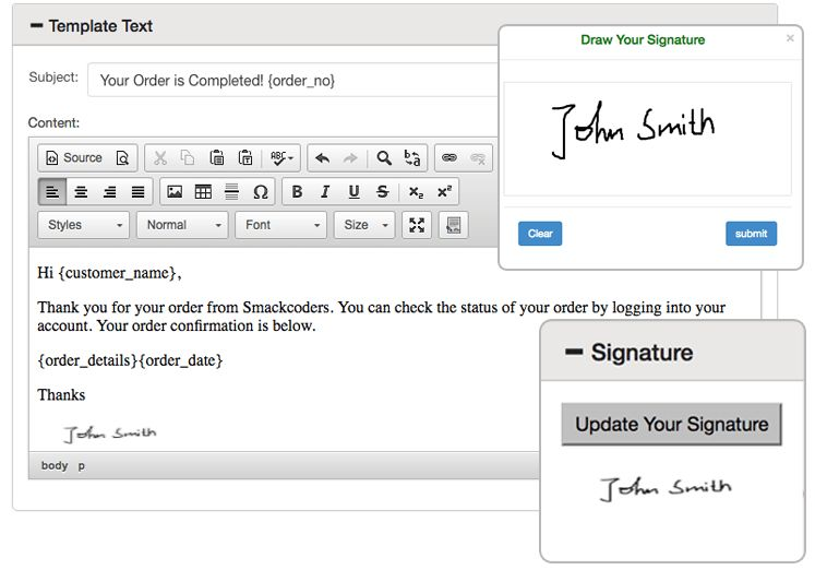 Email Customizer for WooCommerce - Smackcoders