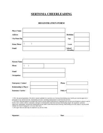 cheerleading application form template | SERTOMA CHEERLEADING ...