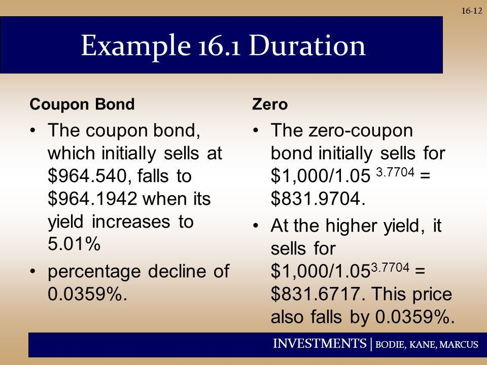 Managing Bond Portfolios - ppt video online download