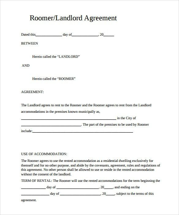 Sample Rental Agreement Template - 10+ Documents in PDF
