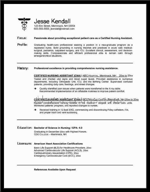 Physician Assistant Resume | The Best Letter Sample
