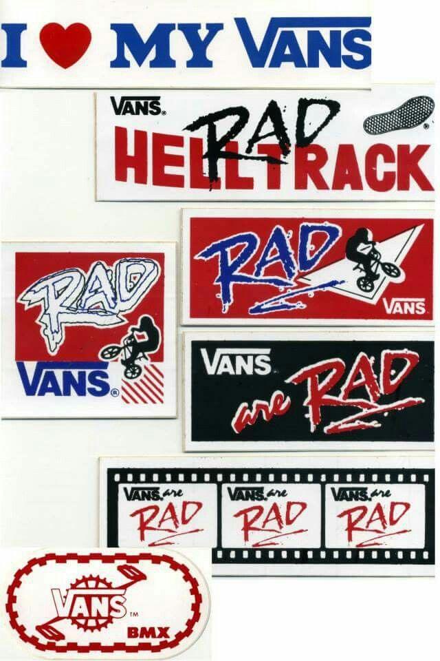 Vintage Vans BMX stickers | Vans stickers, Vans off the wall, Bmx ...