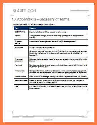 6+ company handbook template | Company Letterhead