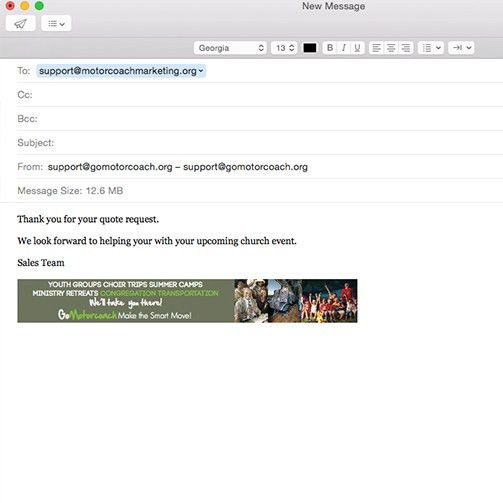 Email Signature Images - GoMotorcoach