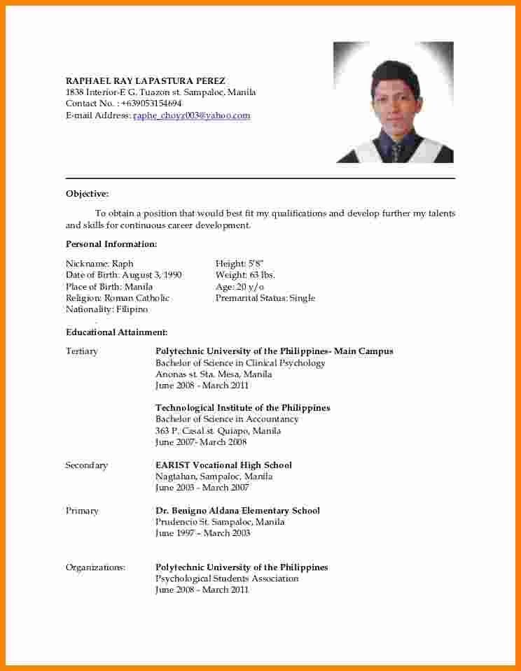 latest updated resume format | ledger paper