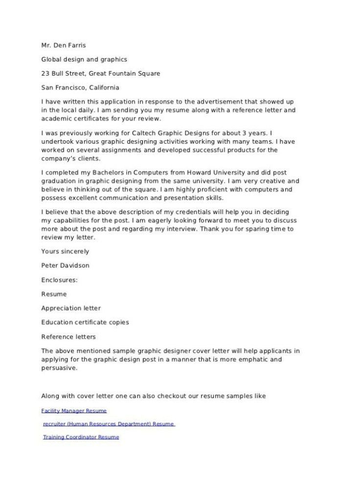 Cover Letter I 751
