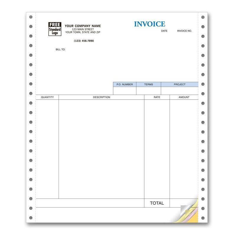 Continuous Computer Forms | DesignsnPrint