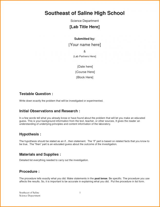 Formal Business Report Example Template Analysis Word Excellent ...