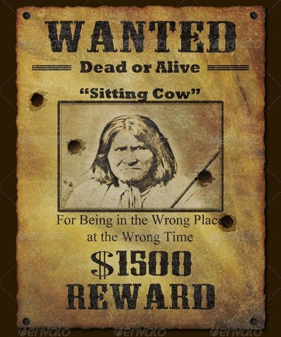 Most Wanted Poster Templates | Calendar Picture Templates