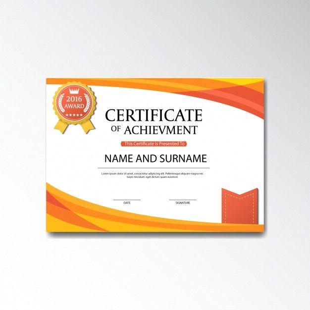 Certificate template design Vector | Free Download