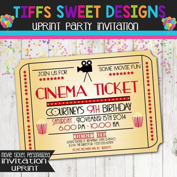 The 25+ best Movie tickets ideas on Pinterest | That night movie ...