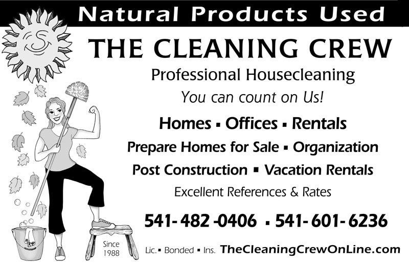 House Cleaning Services in Ashland, Medford, and surrounding areas ...