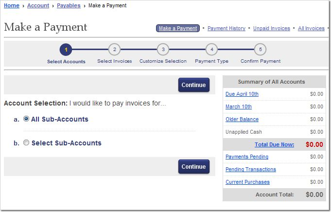Account: Payables Help - Support - Elliott Electric Supply