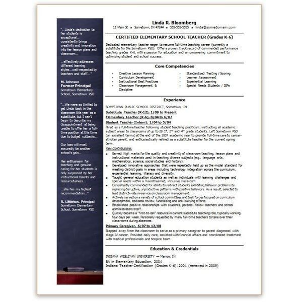 Resume Template On Microsoft Word. Complete Guide To Microsoft ...