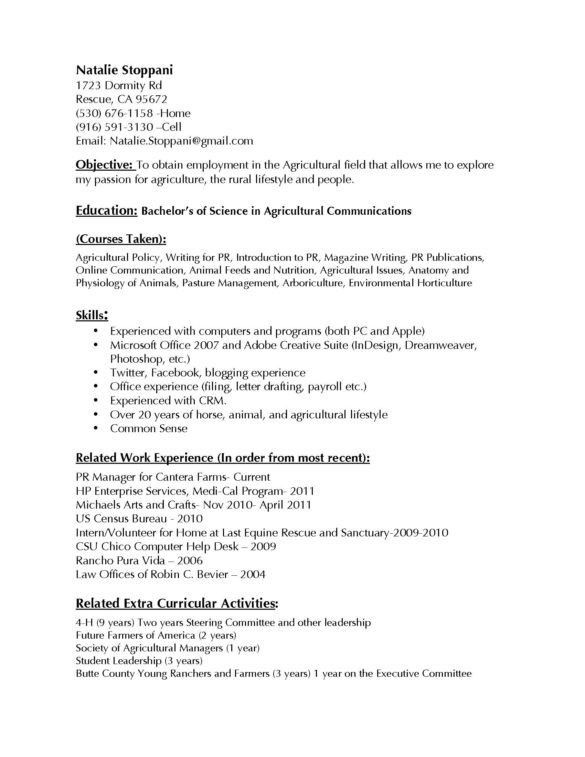 Best Hospital Housekeeping Resume with Bachelors Of Science In ...