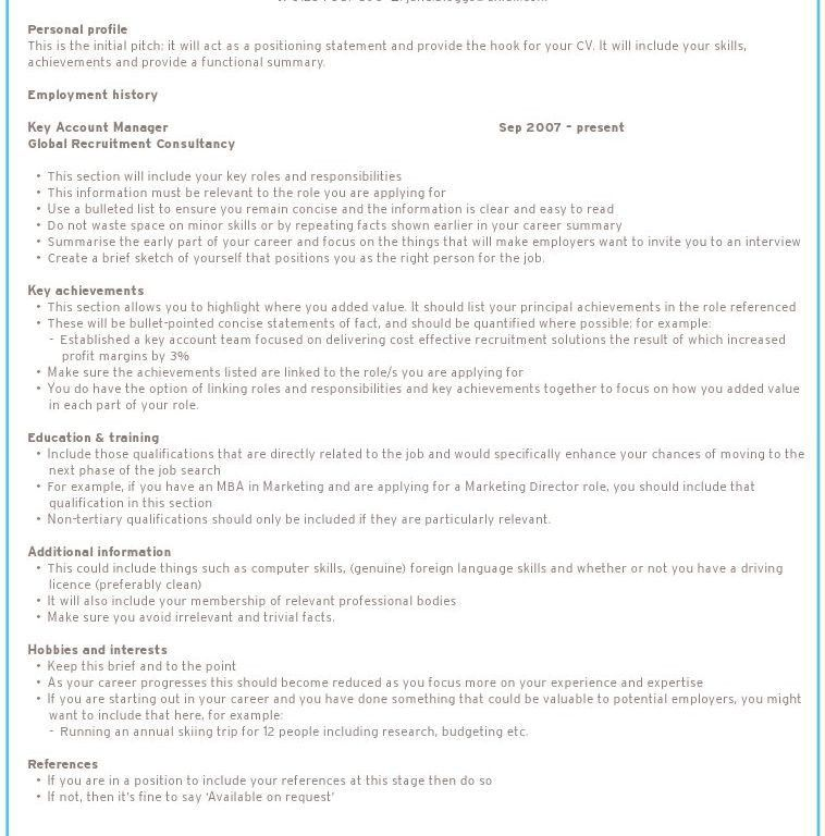 perfect sample resume sample of a perfect resume sales associate ...