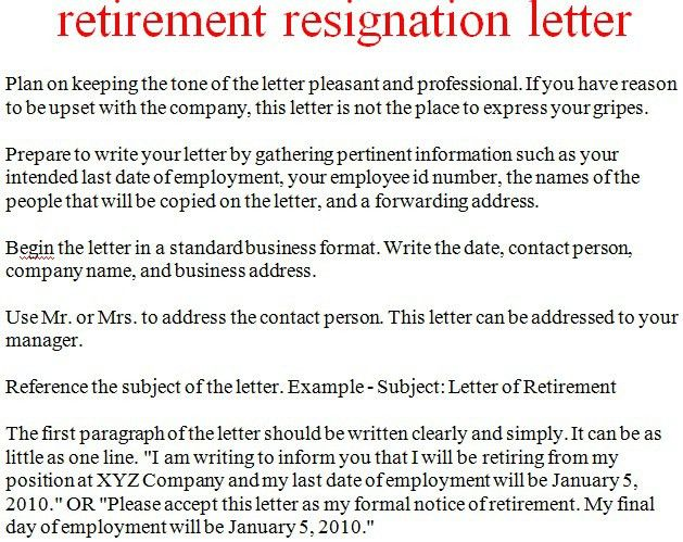 Resignation Letter Format: Keeping Tone How To Write A Letter Of ...