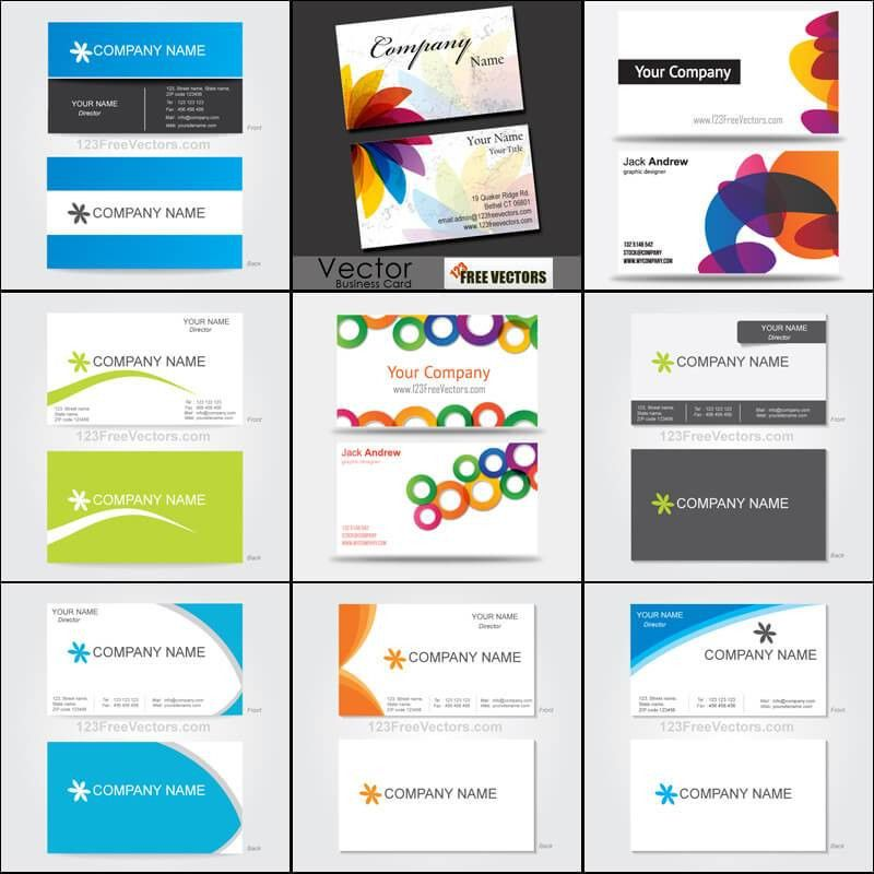 250+ Business Card Template Vectors | Download Free Vector Art ...