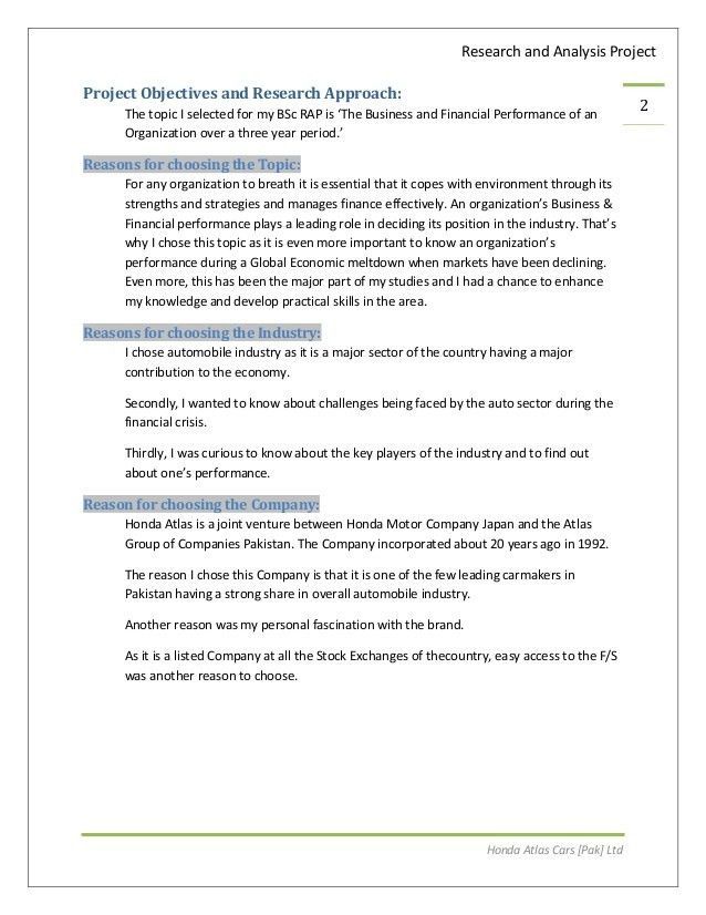 Oxford Brookes (OBU) ACCA Applied Accounting RAP Thesis on Topic 8 'T…