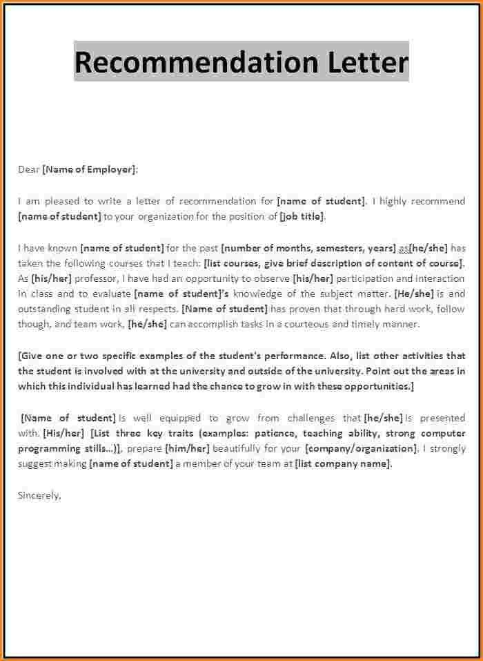 9+ recommendation letter format for scholarship | receipts template
