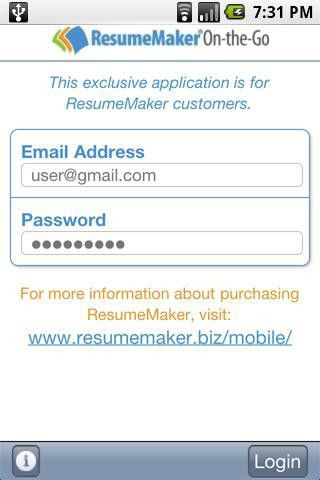 ResumeMaker On-the-Go - Android Apps on Google Play