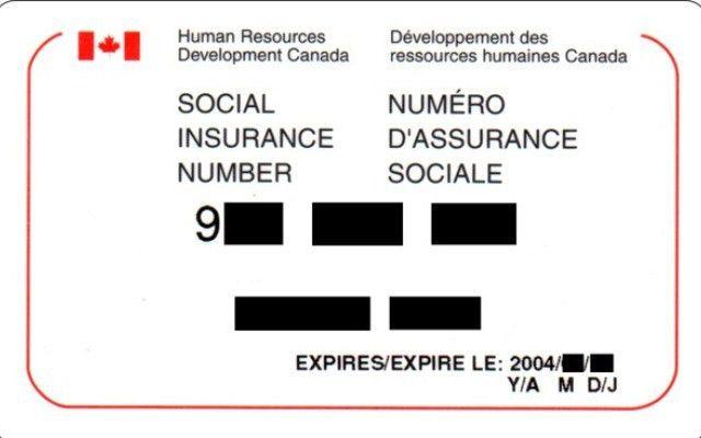 Social Insurance Number (SIN) - University of Alberta