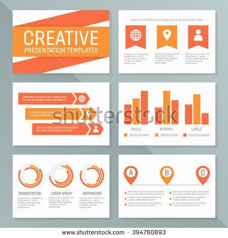 Vector Template Multipurpose Presentation Slides Graphs Stock ...