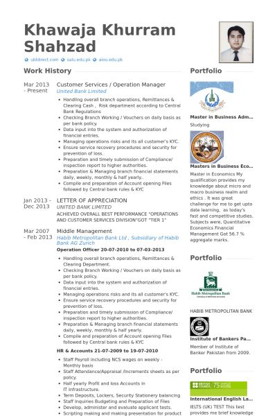 nice operations manager resume samples images it management