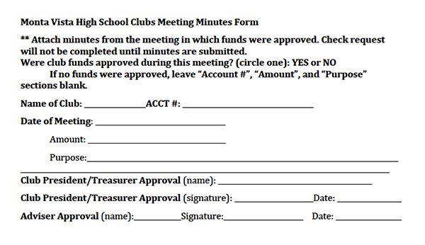 Club Commission requires meeting minutes as of Feb. 11 | El Estoque