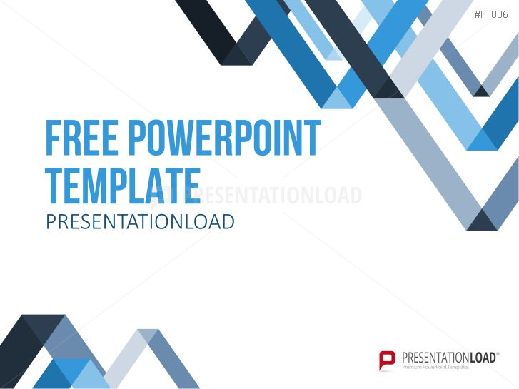 PresentationLoad | Free PowerPoint Template LowPoly Triangles
