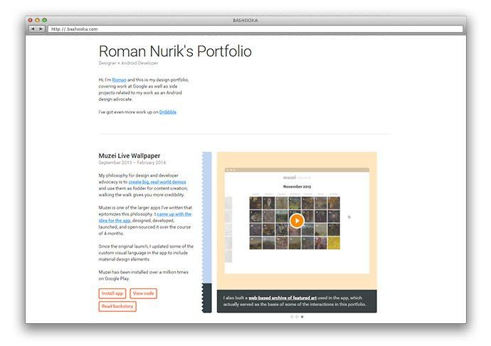 25 Free HTML Portfolio Website Templates | Web & Graphic Design ...