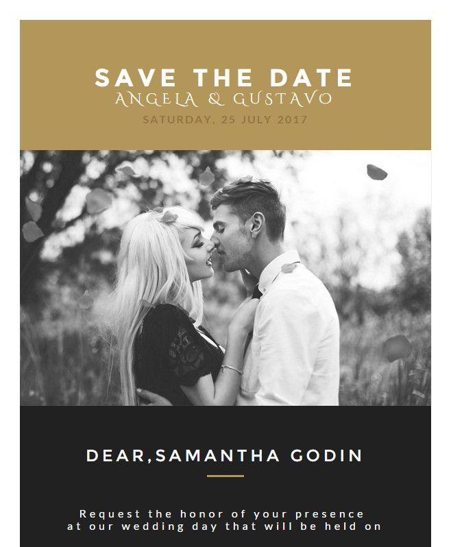 Wedding Invitation Card Email Template: Buy Premium Wedding ...
