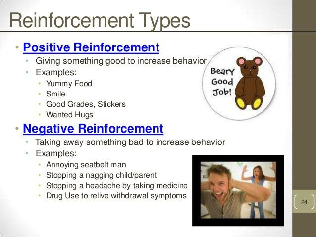 Image Gallery of Negative Reinforcement Examples In The Workplace