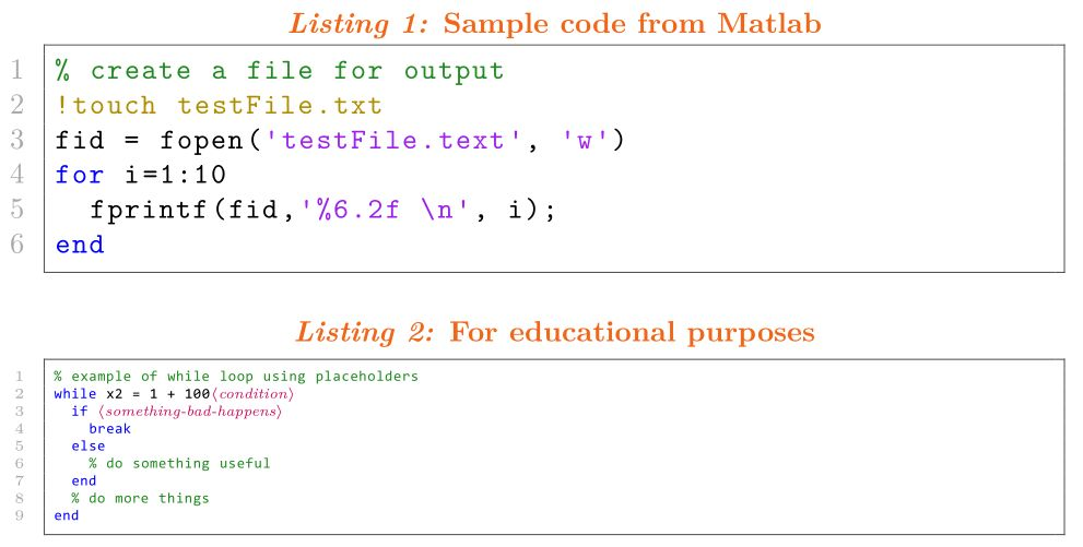 matlab-prettifier code not showing correctly - TeX - LaTeX Stack ...