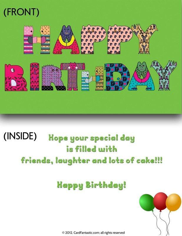 Print Birthday Cards – gangcraft.net