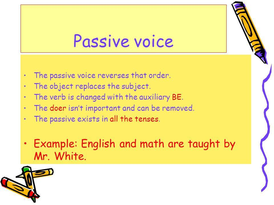 Passive Voice. - ppt video online download