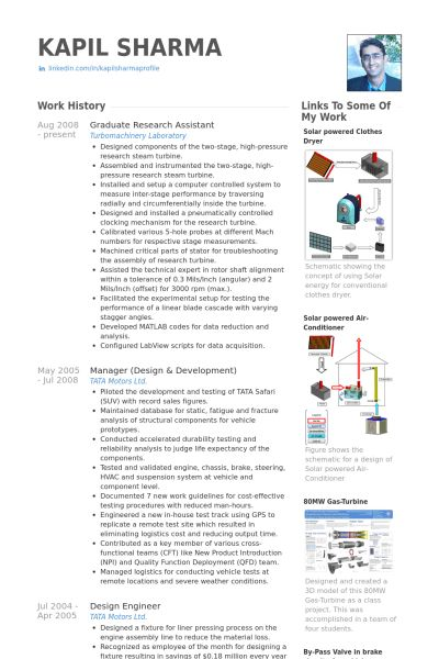 Graduate Research Assistant Resume samples - VisualCV resume ...