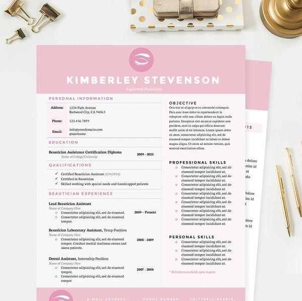 Beautician Resume Samples