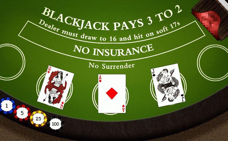 Game : Blackjack: Tutor — A La Bapsi