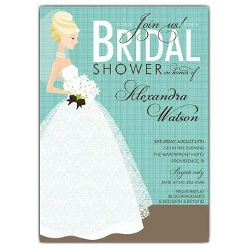 Bridal Shower Invitations Wording | badbrya.com