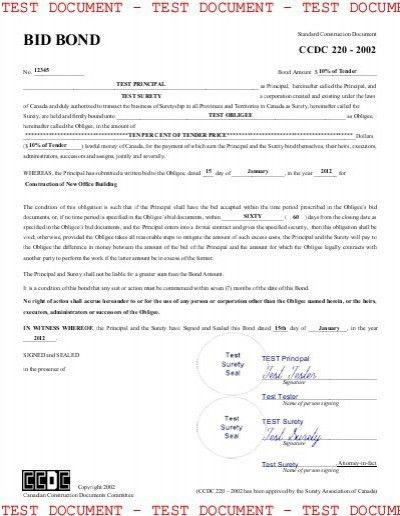 Surety Bond Template. joint venture agreement template sample form ...