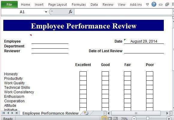 employee review template word - anuvrat.info