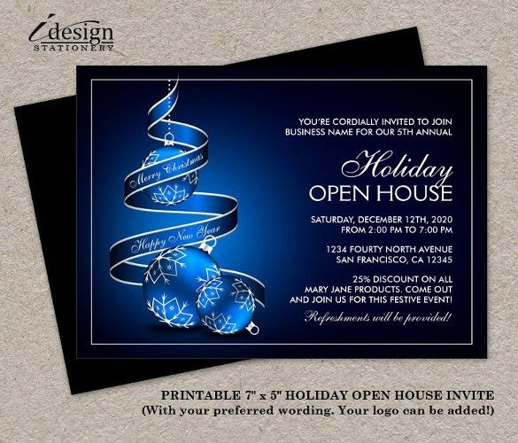 22+ Open House Invitation Templates – Free Sample, Example, Format ...