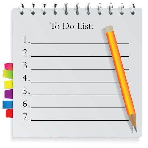 Download To Do List Template | Fillable | PDF | Word | Excel ...